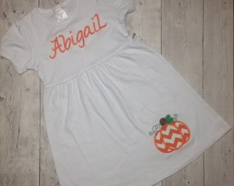 Monogram Pumpkin Dress