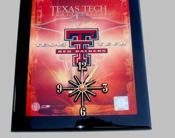 Texas Tech Red Raiders Wall Clock