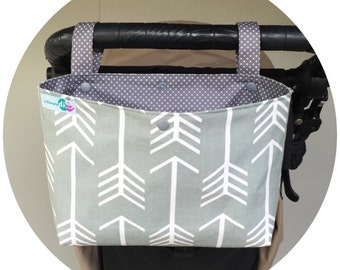 Medium pram caddy / pram organiser / stroller bag