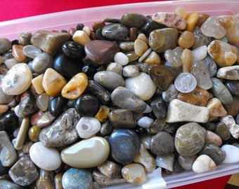 Ten Pounds Of Polished Stones For Home Decor, Crafting Stones