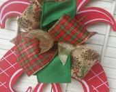 Christmas Monogram Door Hanger Christmas Red Decor Monogram Pineapple Welcome Decor Christmas Wreath Pineapple Hanger Monogram Wedding Gift