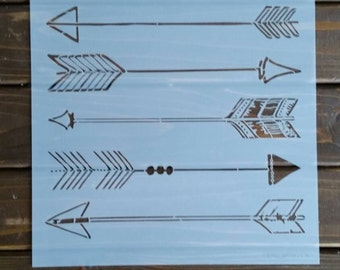 Reusable Arrow Stencil