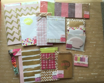 Target one spot pink stationary lot