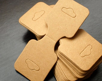 Necklace hanging craft paper tags packaging