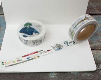 Limited Edition Tools to Liveby washi tape stationery theme