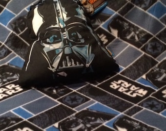 Star Wars DARTH VADER Blanket Pillow & Throw Set - Personalized