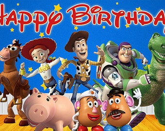 Disney Toy Story Birthday Banner