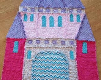 Castle rag quilt