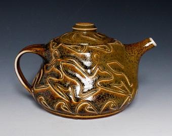 Teapot - Handmade - Ceramics