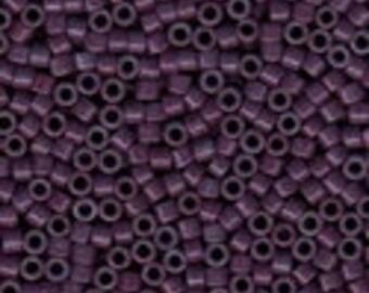 MIYUKI #11 Delica 662 - Dark Mauve Dyed - 5 grams