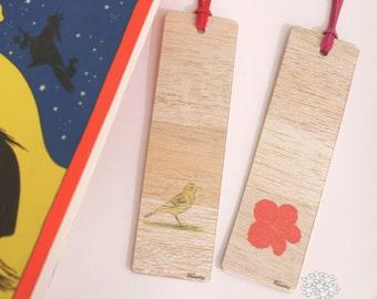 Custom Wooden Bookmark - Personalized Wooden Bookmark