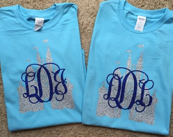 Castle Monogram Shirt, Short Sleeve for Youth and Adult