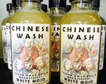 Chinese Wash - Hoodoo spiritual floor wash - protection and clearing magic
