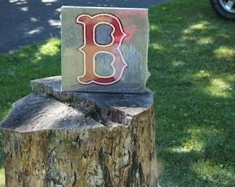 Red Sox Garden Stone