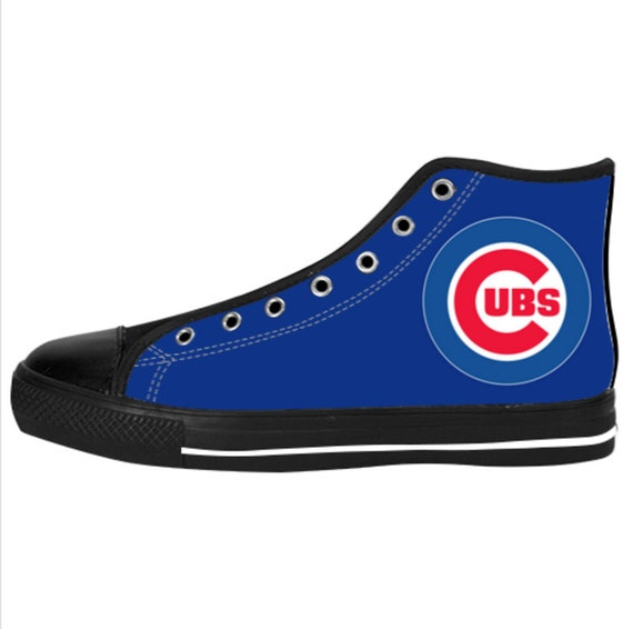 s sneaker chicago cubs custom canvas sneaker by