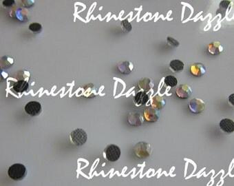 ss16 Hotfix Aurora Borealis Crystal Flatback Rhinestones, Crystal AB, 4mm Hotfix Crystal AB Rhinestones, 144pcs, 288pc, 432pc, 576pc,1000pc
