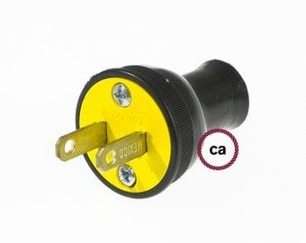 Round Plug - Black