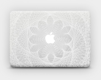 Transparent MacBook Skin MacBook Sticker MacBook Decal Laptop Skin Laptop Sticker MacBook Air MacBook Pro - Fractal Rhythm