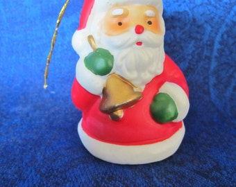 Vintage Santa Bell-This cute little Santa was made in Taiwan for the Gift Co. Inc. in 1985. Original label is still attached. Collectible!
