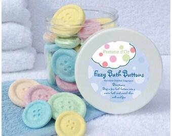 Mini Button Bath Bombs - kind to sensitive skin