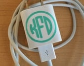 Iphone Charger Monogram