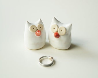 Same Sex Cake Topper, Gay Cake Topper, Lesbian Cake Topper, Ceramic Owl Cake Topper, Owl Couple, Wedding Cake Topper, Wedding Gift, lgbt