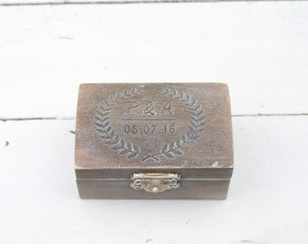 ring bearer box wedding ring box personalised wedding ring box ring bearer pillow - Wedding Ring Boxes