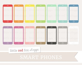Smart Phone Clipart, Cell Phone Clip Art Telephone Silhouette Shape Household Dial Office Cute Digital Graphic Design Small Commercial Use