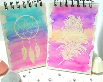 Notebooks- Dreamcatcher or Feather