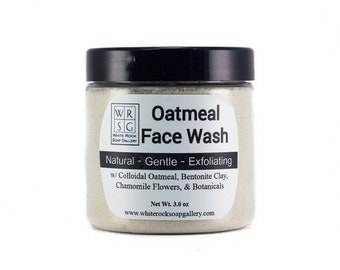 Soothing All Natural Oatmeal Face Wash