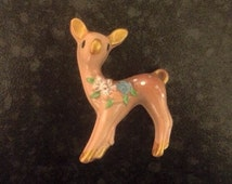 Bambi pin brooch