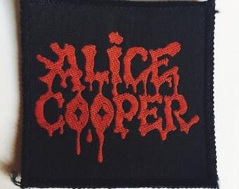 Alice Cooper vintage patch