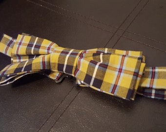 Cornish Tartan Bow Tie