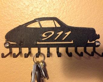Porsche 911 key holder / lanyard / medal / tie / tool
