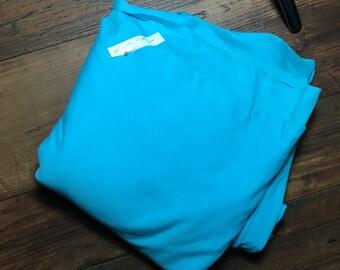 2 yd Teal Cotton/Lycra Fabric