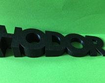 Hodor Door Stop - Hodor Doorstop - 3d Printed Hodor Door Stopper - 3D PLA printed Game Of Thrones inspired door stop