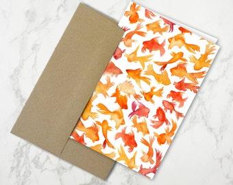 Goldfish – Stationery Card