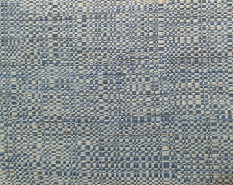 Blue Woven Upholstery - Upholstery Fabric by the Yard