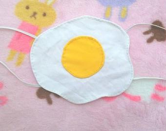 Fried egg mask