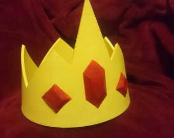 Ice King inspired cosplay crown - inspired by  Adventure Time (Small)