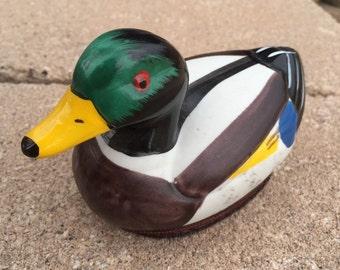 Ceramic Painted Duck