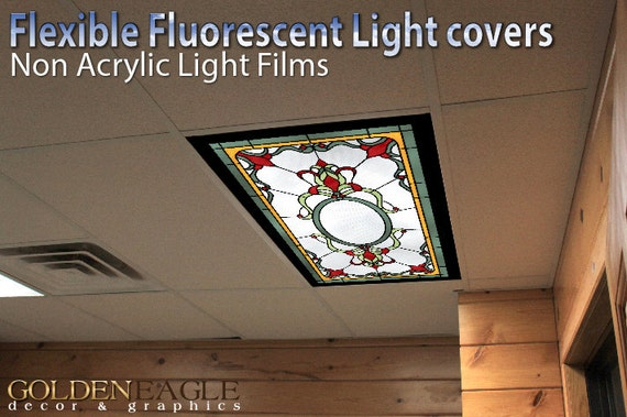 Flexible fluorescent light cover films skylight ceiling school - Classroom fluorescent light covers ...