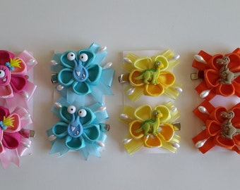 Hair clips, Girls hair clips, Girls accesories, Accesories