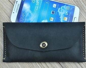 Samsung Galaxy S6 Edge Plus Case, Leather Galaxy Note 5 Case, Note 4 Case, Samsung S5 Case, Note 3 Case, Phone Case Monogrammed, F155