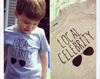 Local Celebrity Toddler Tee