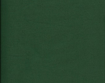 New Painters Palette Forest (Dark Green) Solid 100% Cotton Fabric by theYard and half yard