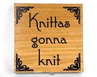Knitting Sayings Etsy