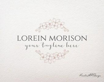 Flowers logo, Wedding photography logo design, Stylish logo, Logo design, Flower shop logo, Boutique logo design, 385