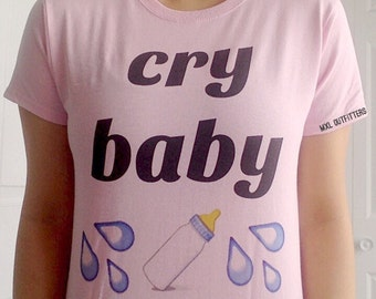 Pink Cry Baby T-shirt