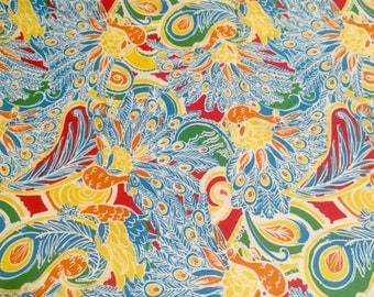 Lilly fabric Shake Your Tail Feather cotton 2 sizes